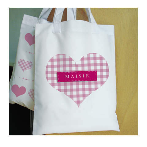 Personalised Bags of Love