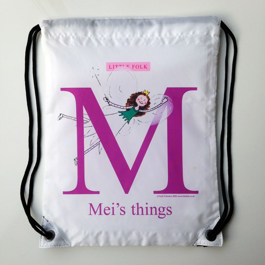 MEI - Fizzy the Little Fairy Princess L Drawstring Swimming Bag - SECOND 123daa36b738e
